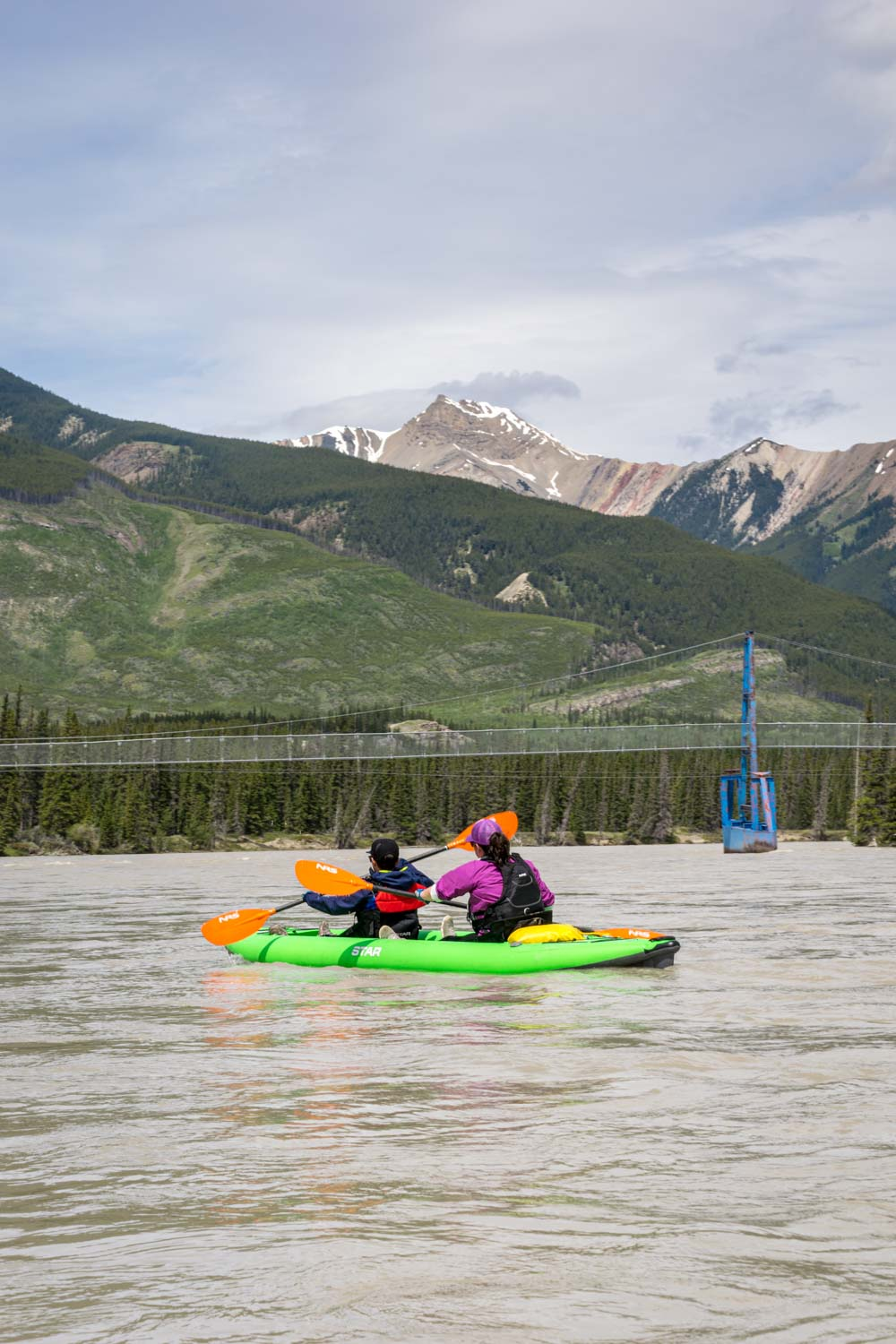Paddling the North Saskatchewan River